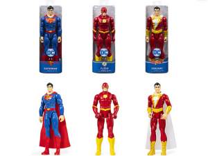 PERSONAGGI 30 CM SUPERMAN - THE FLASH - SHAZAM!1 PZ  ASSORTITI