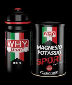 WHY Sport Magnesio Potassio + Borraccia