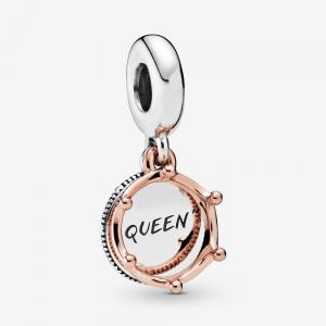 Charm pendente Regina & Corona regale
