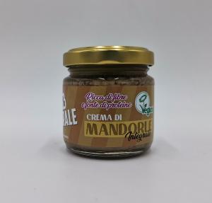 Crema di mandorle integrale - 100% naturale