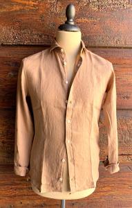 Camicia in lino tinta unita