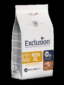Exclusion RENAL MAIALE  & SORGO  E RISO SMALL BREED 2kg