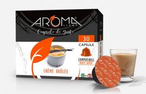 30 Capsule Crème Brûlée Aroma Light compatibili Dolce Gusto