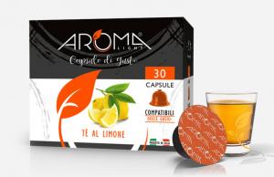 30 Capsule Tè al Limone Aroma Light compatibili Dolce Gusto