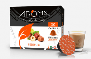 30 Capsule Nocciolino Aroma Light compatibili Dolce Gusto