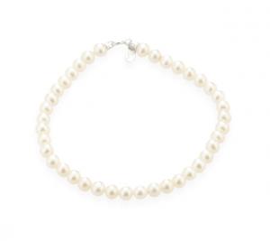 TRAMONTANO - Bracciale Perle vere dia. 4,5/5 mm