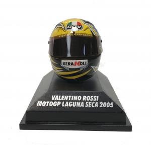 Valentino Rossi  Moto GP 2005 Laguna Seca Helmet 1/8