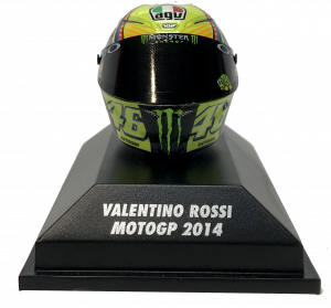 Valentino Rossi  Moto GP 2014 Helmet 1/8
