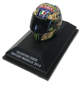 Valentino Rossi  Moto GP Mugello 2014 Helmet 1/8
