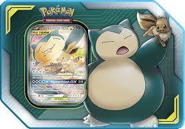 Pokémon Tin da Collezione Alleati Eevee e Snorlax-GX