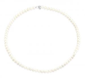 TRAMONTANO - Collana perle VERE 5.5/6 mm