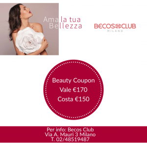 Becos Club Milano coupon €150