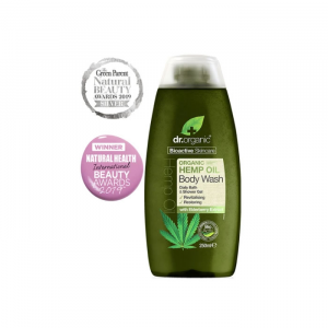 Dr. Organic Hemp Oil Body Wash 250ml