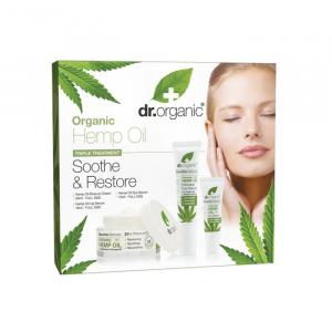 Dr. Organic Hemp Oil Rescue Cream 50ml Set 3 Parti 2020