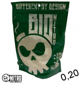 PALLINI NITRO BIO 0,23 BIANCHI (1kg)