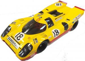 Porsche 917K #18 Aaw Racing Team With David Piper Van Lennep 24H Le Mans 1970 1/12