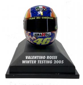 Valentino Rossi Winter Testing 2005 Helmet 1/8