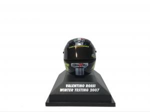 Valentino Rossi Winter Testing 2007 Helmet 1/8