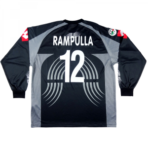 2001-02 Juventus Maglia Match Worn/issue Portiere #12 Rambulla XL (Top)