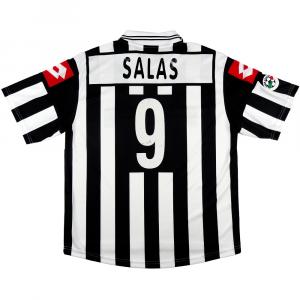 2001-02 Juventus Maglia Match Worn/issue #9 Salas L (Top)