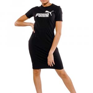 Puma Vestitino Black Logo da Donna