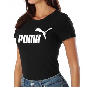 Puma T Shirt Black da Donna