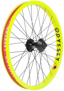 Odyssey Hazard Lite + Vandero Ruota Anteriore | Colore Fluo Yellow