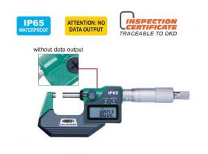 Micrometro digitale per esterni waterproof IP65 3108