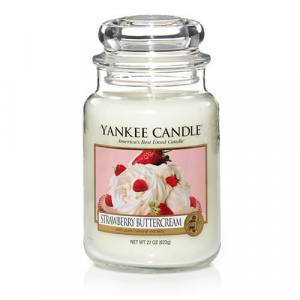 Yankee Candle - Strawberry Buttercream - Giara grande