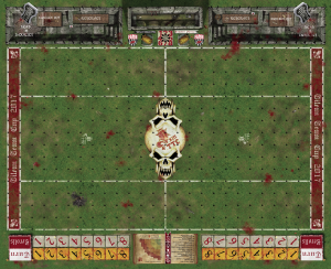 Blood Bowl Pitch - Fantasy Football Pitch - Tilean Team Cup 2017 Official Pitch