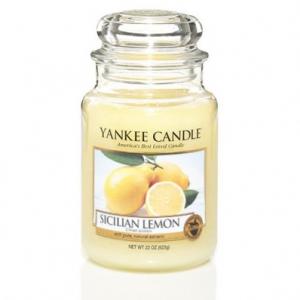 Yankee Candle - Sicilian Lemon - Giara grande