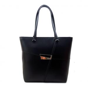 Shopper nera Cromia