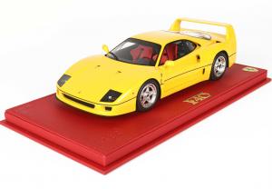 Ferrari F40 Giallo Modena 1987 With Case 1/18