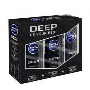 Nivea For Men Deep Set 3 Pieces 2020