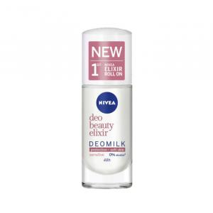 Nivea Milk Beauty Elixir Sensitive Deodorant Roll-On 40ml