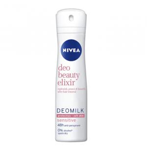Nivea Milk Beauty Elixir Sensitive Deodorant Spray 150ml