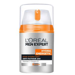 Loreal Men Expert Hydra Energetic Crema Idratante Anti Fatica Lunga Durata 50ml