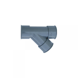 DERIVAZIONE 45° FF PVC GRIGIO Diam. 40