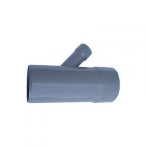 DERIVAZIONE RIDOTTA 45° MF PVC GRIGIO Diam. 100-40