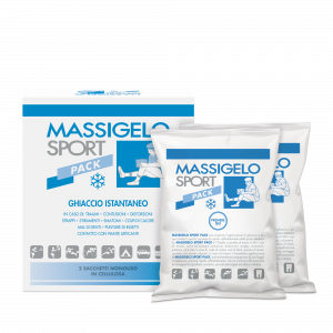 MASSIGELO SPORT PACK GHIACCIO ISTANTANEO 2 BUSTE