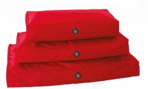 Cuscinone sfoderabile BRICK rosso waterproof Leopet