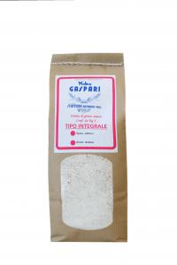 Farina artigianale tipo Integrale di grano tenero italiano, Formato da 1 KG