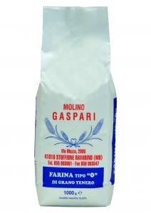 Farina artigianale tipo 0 di grano tenero italiano, Formato da 1 KG