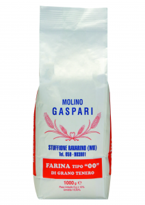 Farina artigianale tipo 00 di grano tenero italiano, Formato da 1 KG