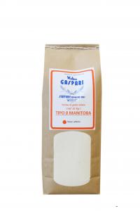 Farina artigianale tipo MANITOBA di grano tenero, Formato da 1 KG