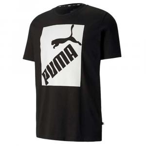Puma T Shirt Logo Stampa Black da Uomo