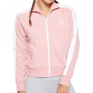Puma Felpa T7 Pink da Donna