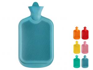 Borsa termica lamellare in gomma 2lt colori assortiti
