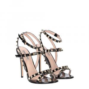Gianni Renzi Couture sandalo vernice nera