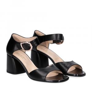 Anna De Bray sandalo nappa nera